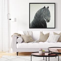 Framed 36 x 36 - Wild heart