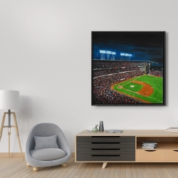 Framed 36 x 36 - Baseball game
