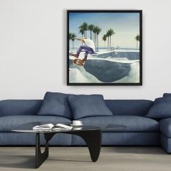 Framed 36 x 36 - Skate park