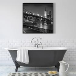 Framed 36 x 36 - City under the night