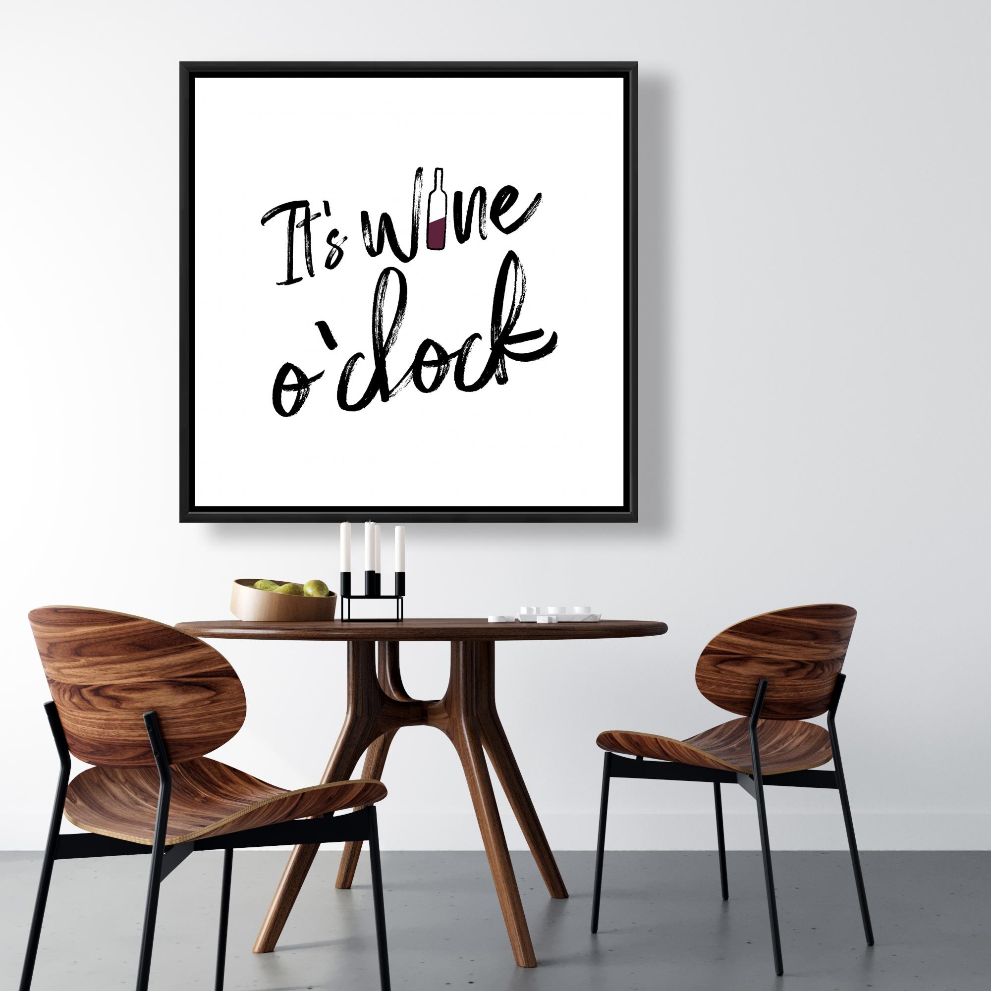 Encadré 36 x 36 - C'est l'heure du vin ii