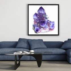 Framed 36 x 36 - Amethyst