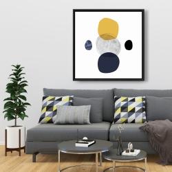 Framed 36 x 36 - Spheres