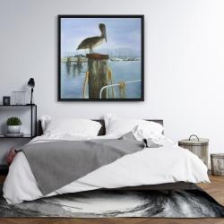 Framed 36 x 36 - Pelican