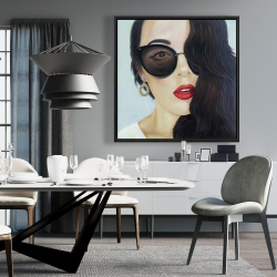 Framed 36 x 36 - Fashionable sunglasses