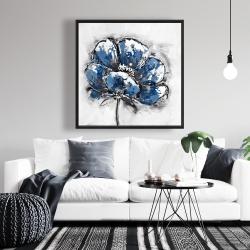 Framed 36 x 36 - Small flower