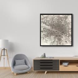 Framed 36 x 36 - Paris