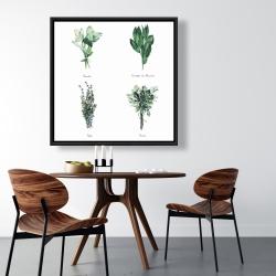 Framed 36 x 36 - Fines herbes