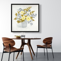 Framed 36 x 36 - Flowers in a vase