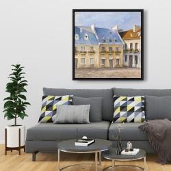 Framed 36 x 36 - Old quebec city