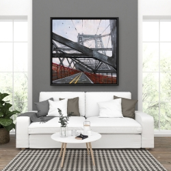 Framed 36 x 36 - Bridge architecture