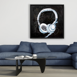 Framed 36 x 36 - Headphone