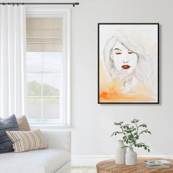 Framed 36 x 48 - Portrait in watercolor