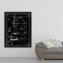 Framed 36 x 48 - Plane plan