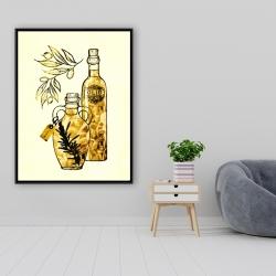 Framed 36 x 48 - Artisanal olive oil