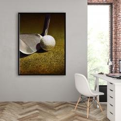 Framed 36 x 48 - Golf closeup