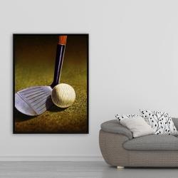 Framed 36 x 48 - Closeup of a golf club
