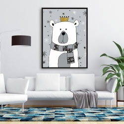Framed 36 x 48 - Beautiful bear