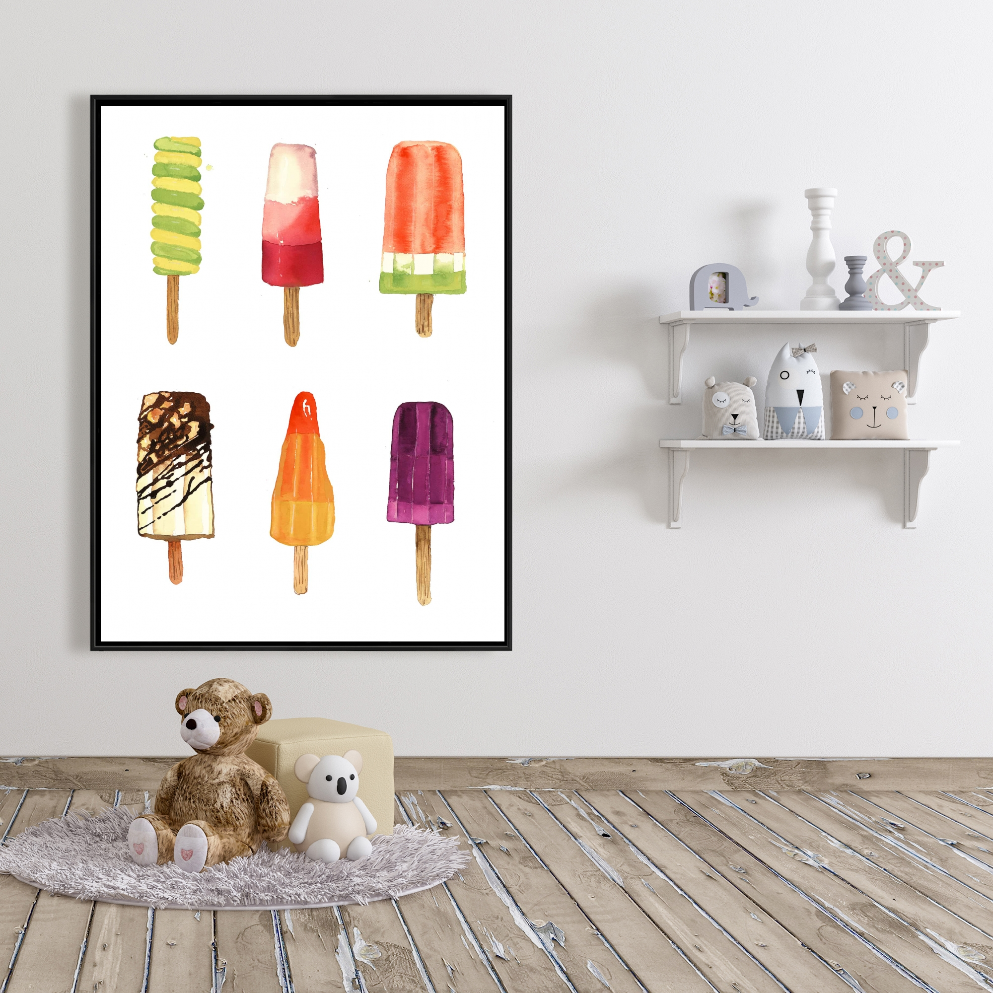 Framed 36 x 48 - Iced lollipop
