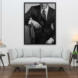 Framed 36 x 48 - Businessman
