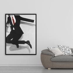 Framed 36 x 48 - Classical jumping man