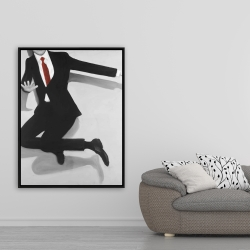 Framed 36 x 48 - Classical jumping man