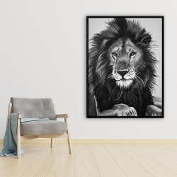 Framed 36 x 48 - The lion king