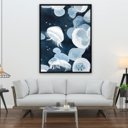 Framed 36 x 48 - Jellyfishs
