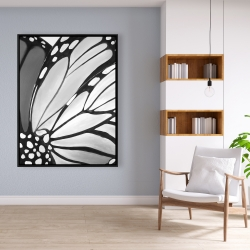 Framed 36 x 48 - Monarch wings closeup