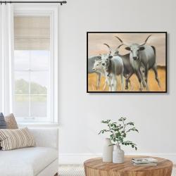 Framed 36 x 48 - Nguni breeding