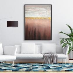 Framed 36 x 48 - Golden pink