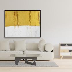 Framed 36 x 48 - Golden stripe