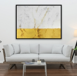 Framed 36 x 48 - Golden shine