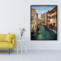 Framed 36 x 48 - Magical venice canal