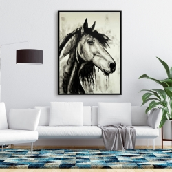 Framed 36 x 48 - Spirit horse