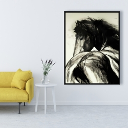 Framed 36 x 48 - Classical horse
