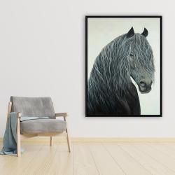 Framed 36 x 48 - Wild heart