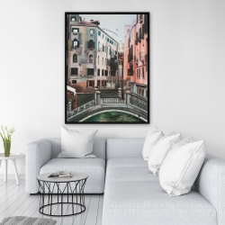 Framed 36 x 48 - Venice