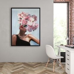 Framed 36 x 48 - See life in flowers