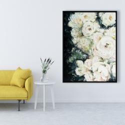 Framed 36 x 48 - Garden roses