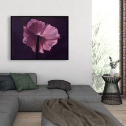 Framed 36 x 48 - Purple petals