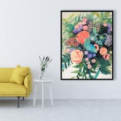 Framed 36 x 48 - Flowers melody