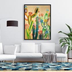 Framed 36 x 48 - Desert gems