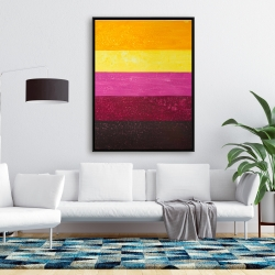 Framed 36 x 48 - Live stripes