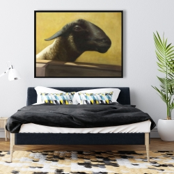 Framed 36 x 48 - Young ram