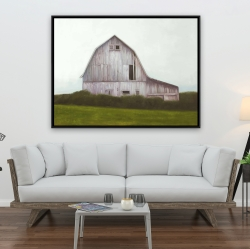 Framed 36 x 48 - Rustic barn