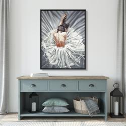 Framed 36 x 48 - Ballerina