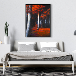 Framed 36 x 48 - Mysterious forest
