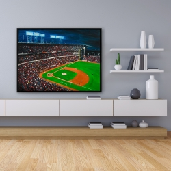 Framed 36 x 48 - Baseball game