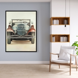 Framed 36 x 48 - Old 1920s luxury car
